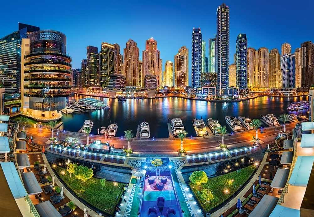 C-104222 Район Марина.Дубай , 1000 деталей