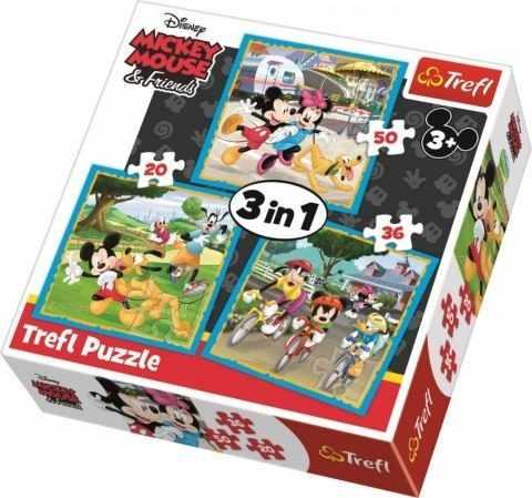 34846 Микки Маус с друзьями  , 20х36х50 деталей