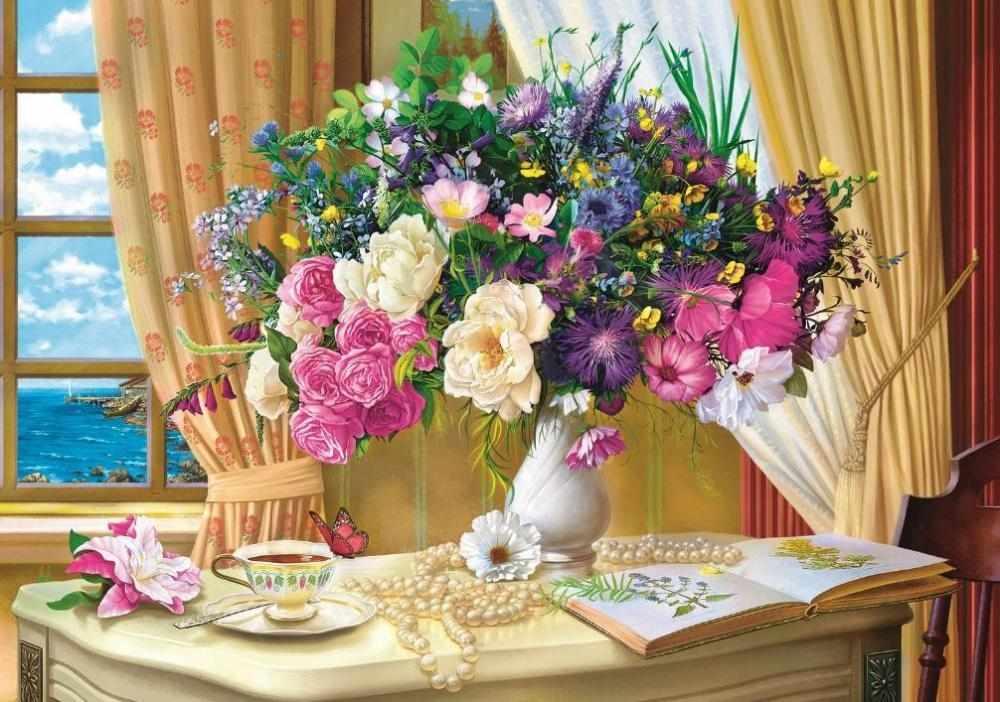 10526 Утренние цветы, 1000 деталей