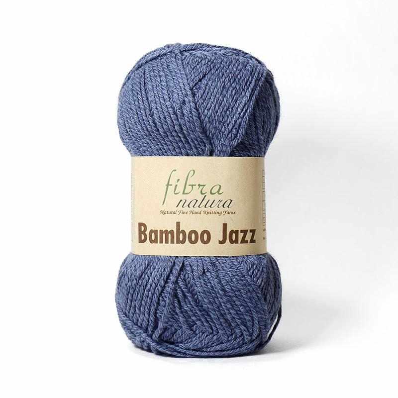 Пряжа Fibra Natura Bamboo Jazz Цвет.220 Джинс