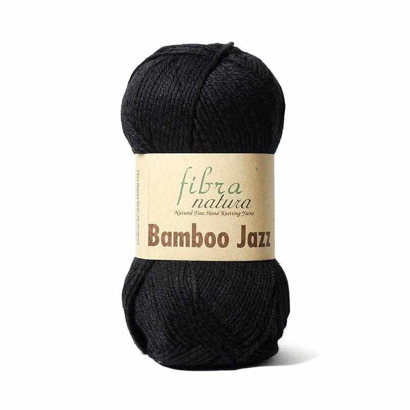 Пряжа Fibra Natura Bamboo Jazz Цвет.212 Чёрный