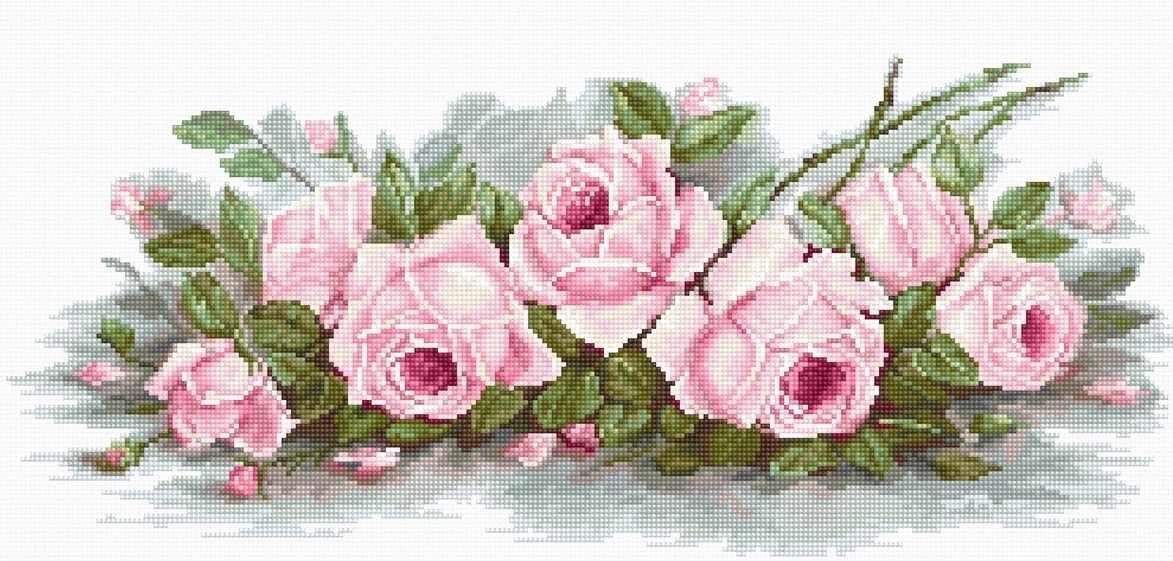 BA2353 Романтические розы (Luca-S)