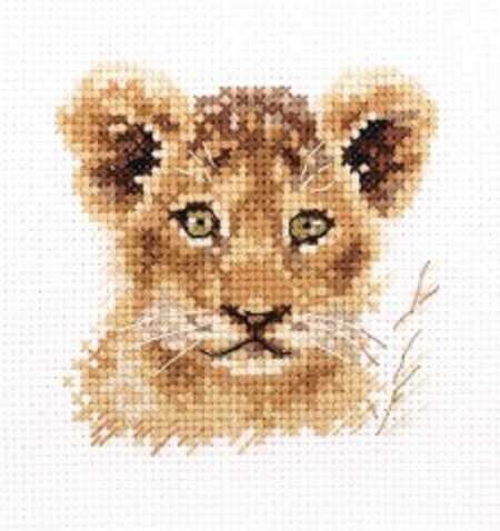 0-194 Животные в портретах. Львенок