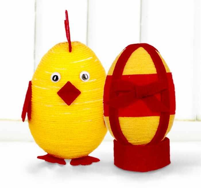 "4064817 Набор для творчества ""Набор для декорирования яиц. Цыпленок"""