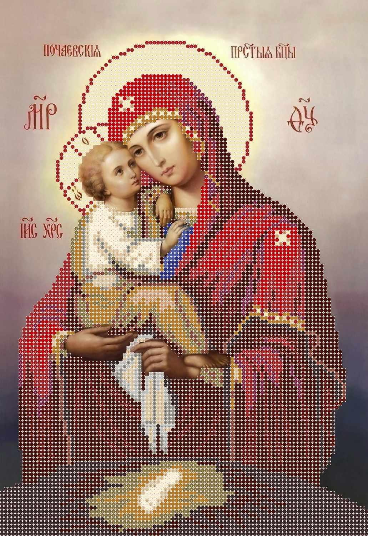 СМИ-004 Почаевская икона Божией Матери