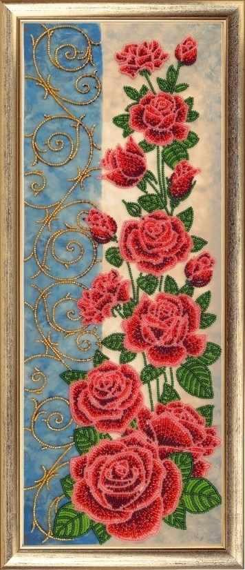 157 Панно с розами - Butterfly