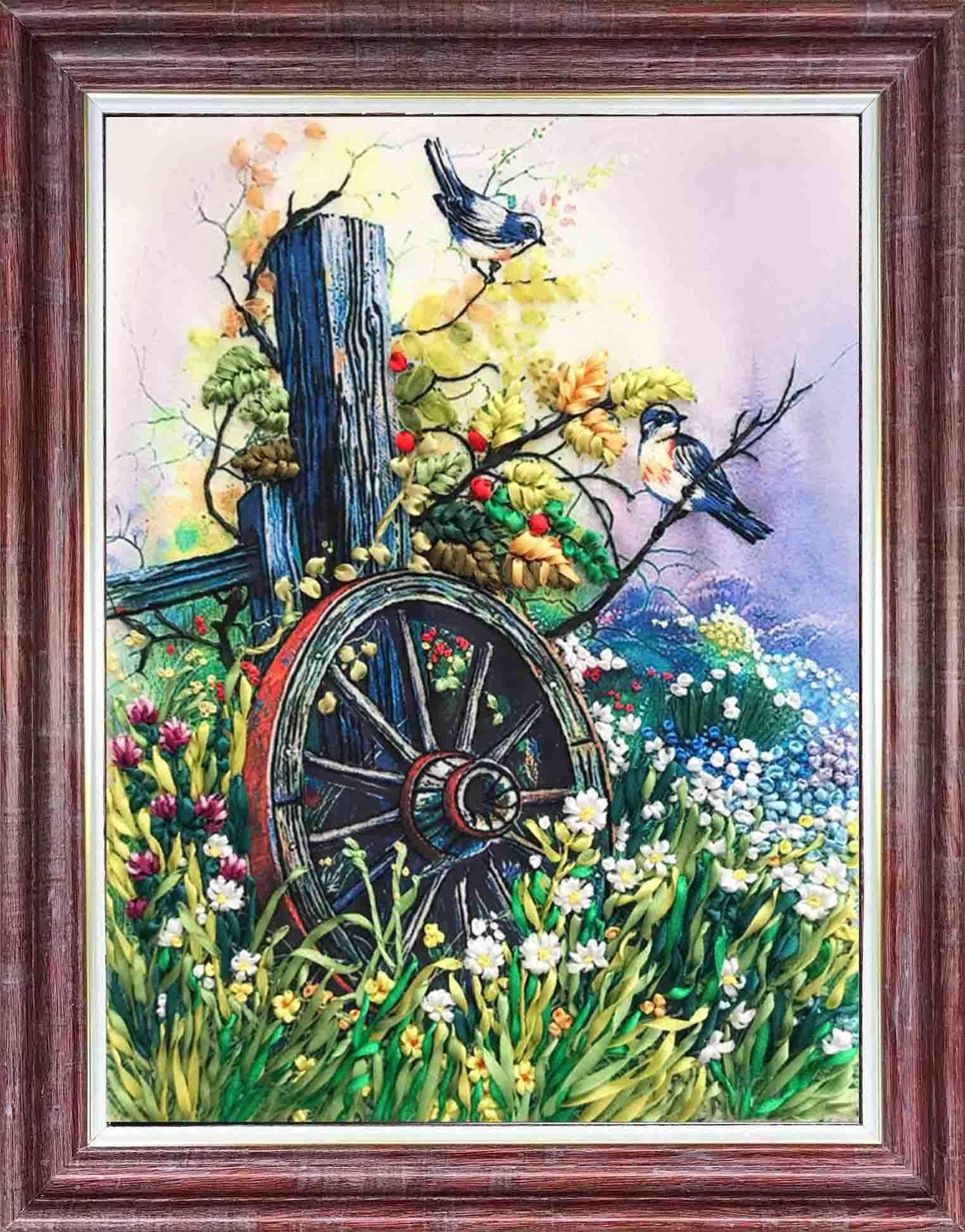 КЛ(н) 3021 Старое колесо - набор (Каролинка)