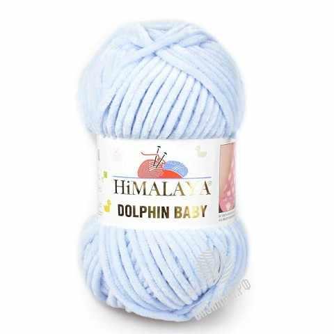 Пряжа Himalaya Himalaya  Dolphin Baby Цвет.80344 Небесный