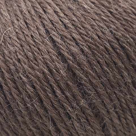Пряжа GAZZAL Baby Alpaca Цвет.46002 Коричневый