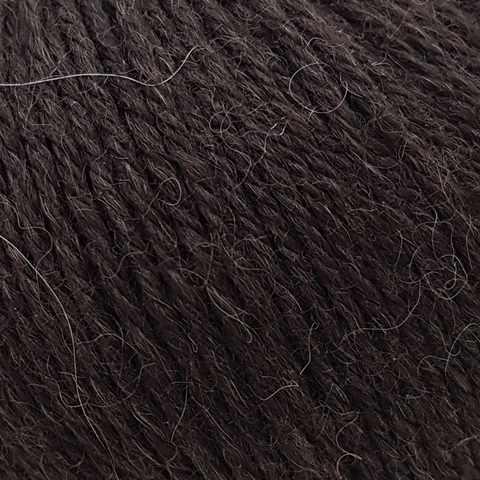Пряжа GAZZAL Baby Alpaca Цвет.46004 Темно-коричневый