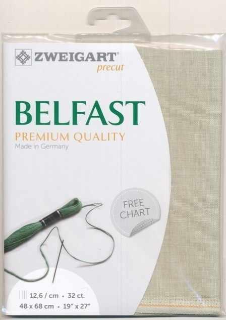 Канва Zweigart 3609 Belfast (100% лен) col 6047 шир 140 32ct