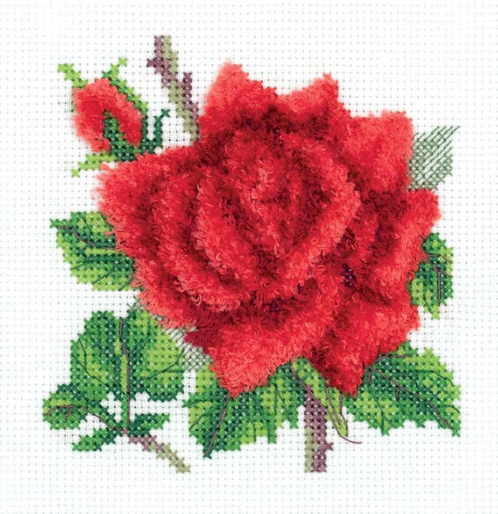 """8-351 """"Красная роза"""""""