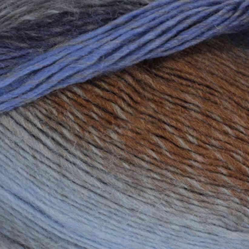 Пряжа YarnArt Magic Цвет.599 Бежево-голубой