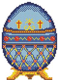 Д-106 Пасхальное яйцо 2 - схема для вышивания (Наследие)