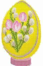 Д-111 Пасхальное яйцо 7 - схема для вышивания (Наследие)