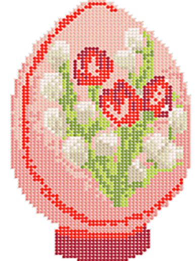 Д-110 Пасхальное яйцо 6 - схема для вышивания (Наследие)
