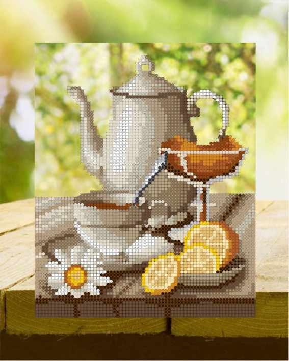 ДА4-089 Полуденный чай - схема для вышивания (Наследие)