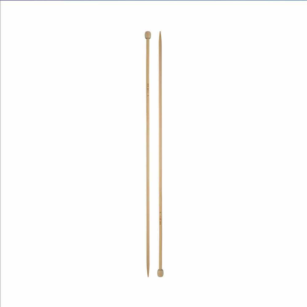 "Спицы прямые ""Гамма"" BL2 бамбук 2,0 мм 35 см (без чехла)"