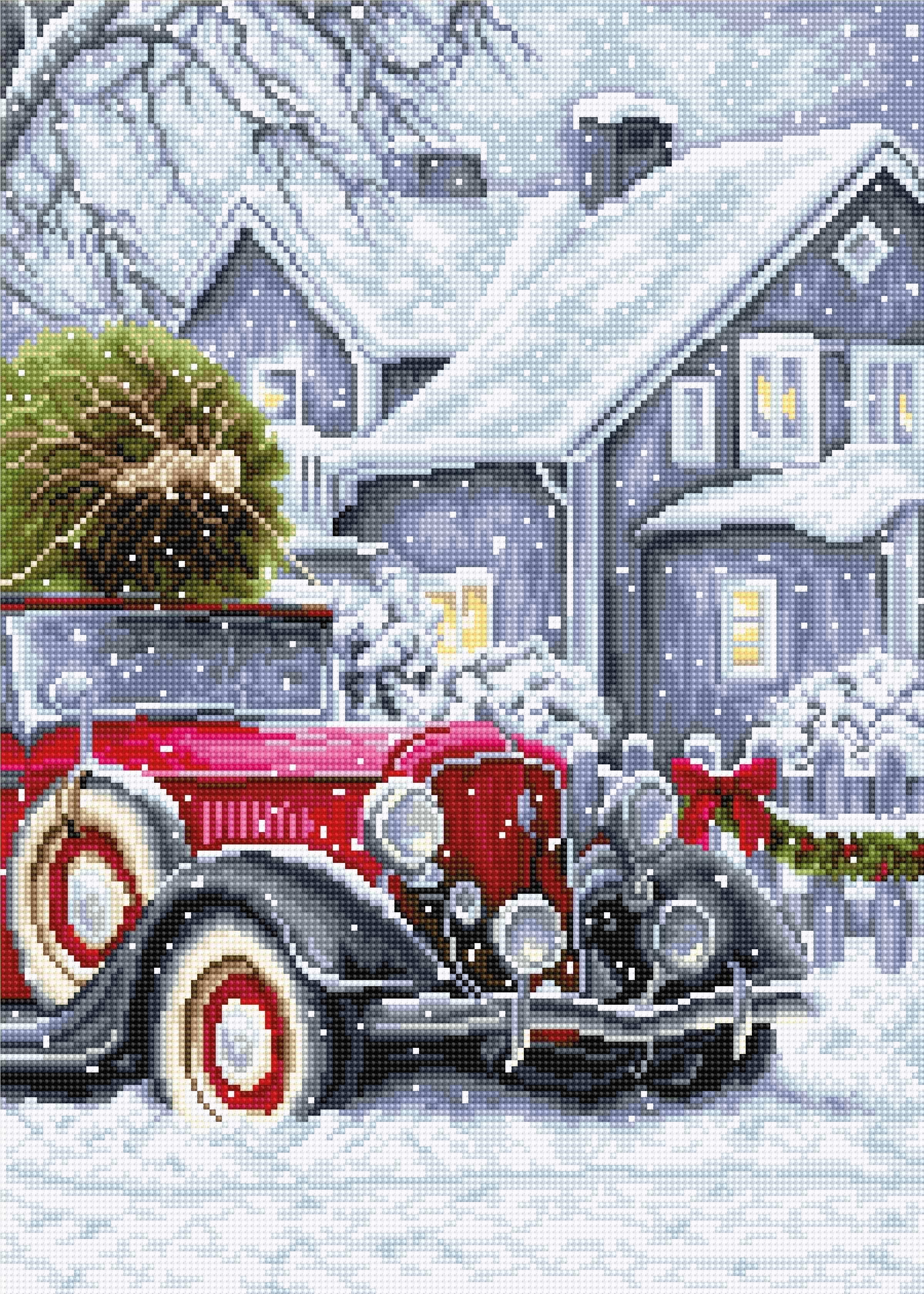 BU4010 Зимние праздники (Luca-S)