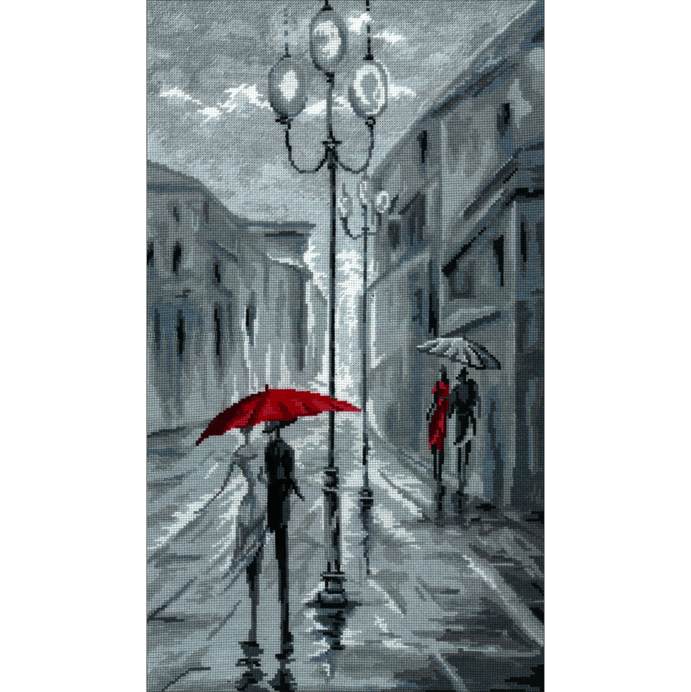 0274 Прогулка под дождем