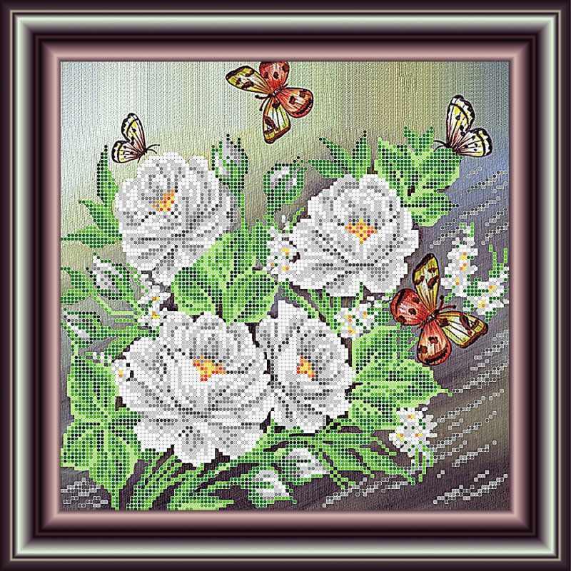 """К3210 """"Белые розы"""""""