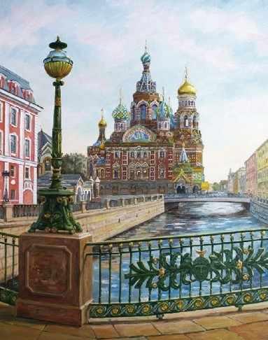 KH0131/1 Санкт- Петербург. Спас на крови