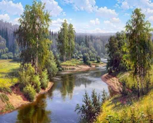 KH0282  Прищепа. Проточная река