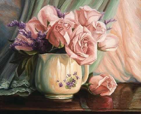 KH0124/1 Розовое утро