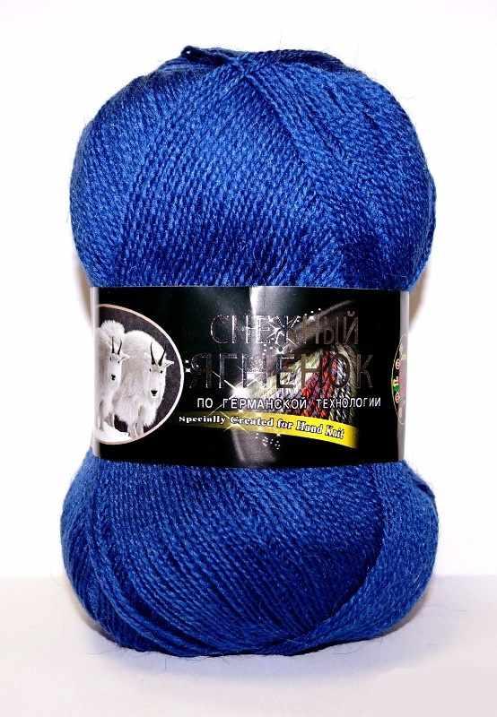 Пряжа Color City Снежный ягненок Цвет.2303 Джинсовый