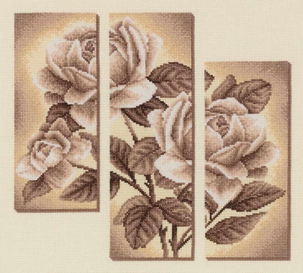 """С-1894 """"Триптих с розами"""""""