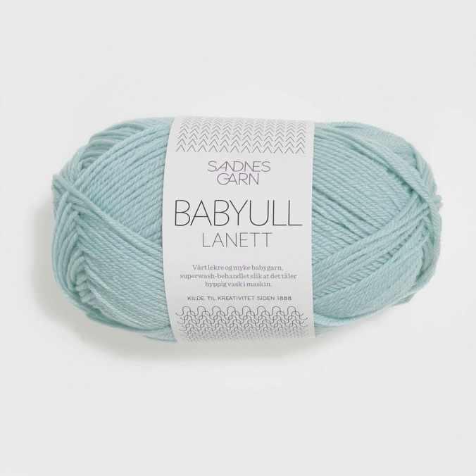 Пряжа SANDNES GARN Babyull Lanett Цвет.6511 Lys bla/св.голубой