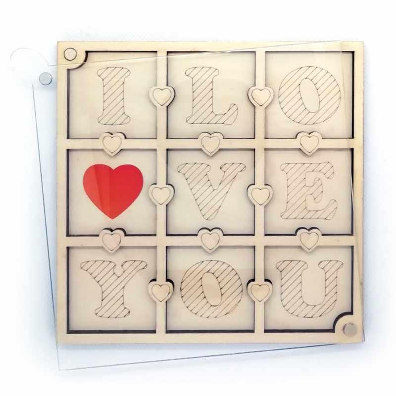 FS-16 Органайзер для бисера с крышкой «I love you»