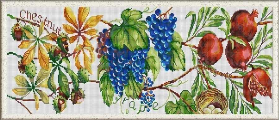 НИК 1267 Дары природы 2 - схема для вышивания (Конёк)
