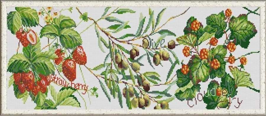 НИК 1266 Дары природы 1 - схема для вышивания (Конёк)