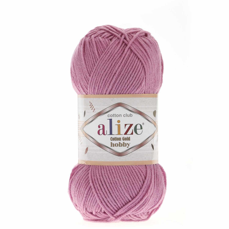 Пряжа Alize Cotton Gold Hobby Цвет.98 Розовый