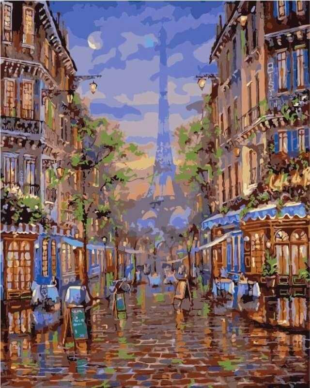 mg2095 «Монмартр Париж»
