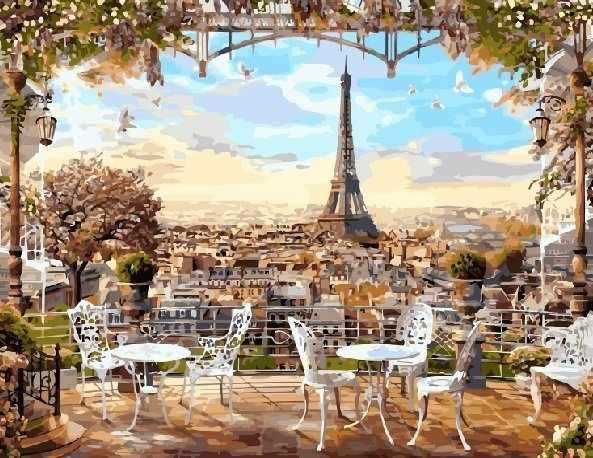 gx8876 «Парижская терасса»