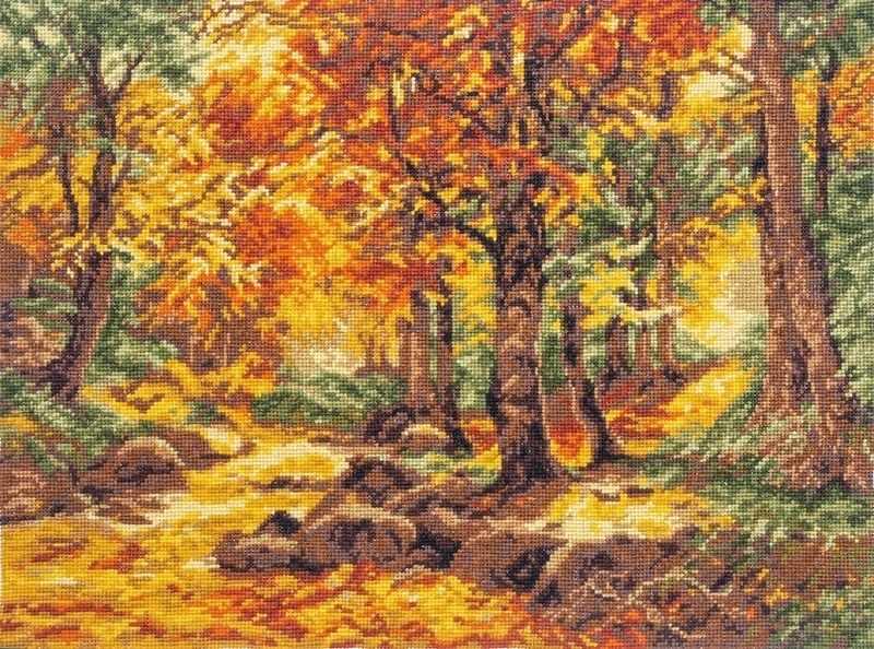 """08.030 """"Осенний пейзаж"""" (Палитра)"""