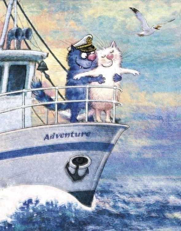 Алмазная вышивка Ag2255 - Морское приключение - мозаика