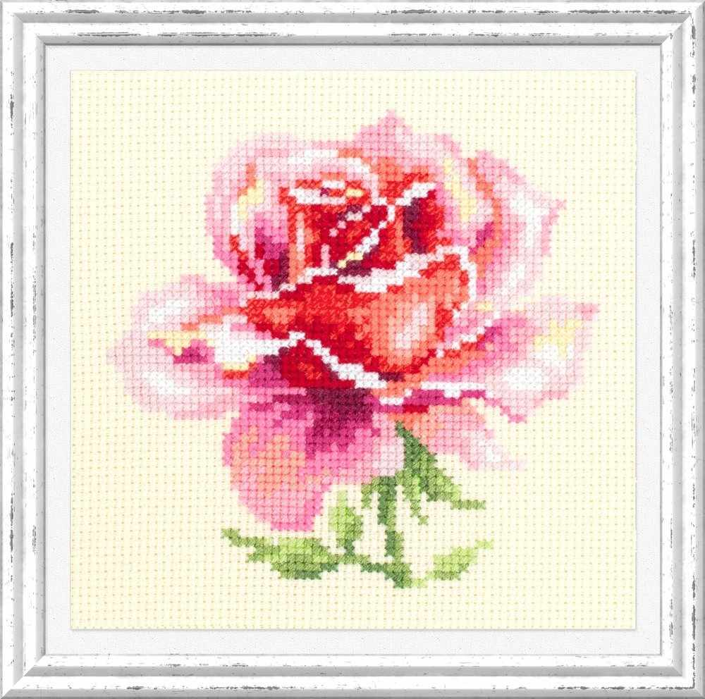 150-002 Розовая роза