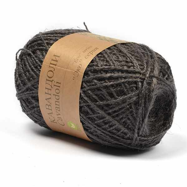 Пряжа Пехорка Кавандоли Цвет.48 Серый