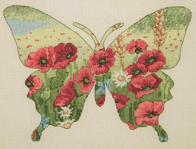 5678-5044  Силуэт бабочки