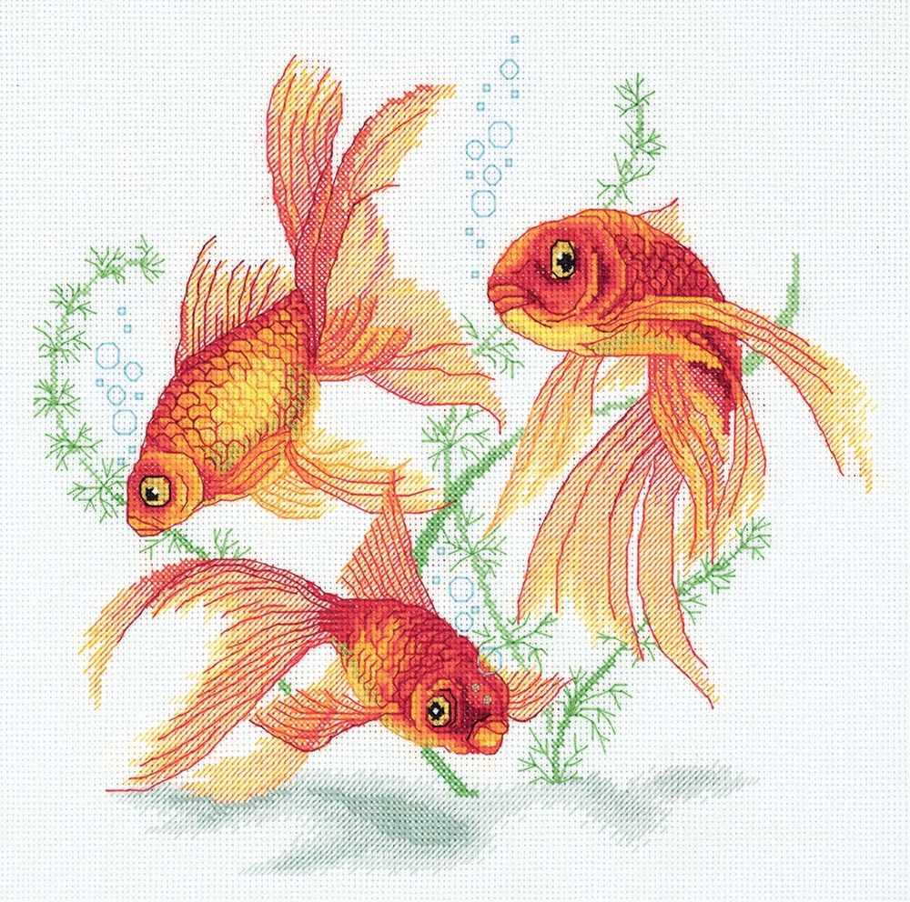 "R-7141 ""Золотые рыбки"""