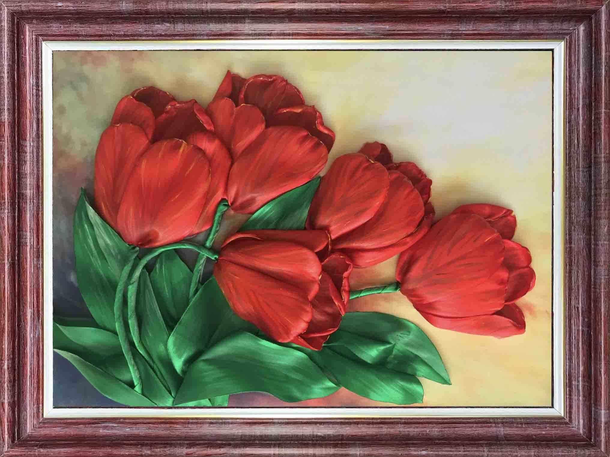 кл(н) 3031 Тюльпаны - набор (Каролинка)
