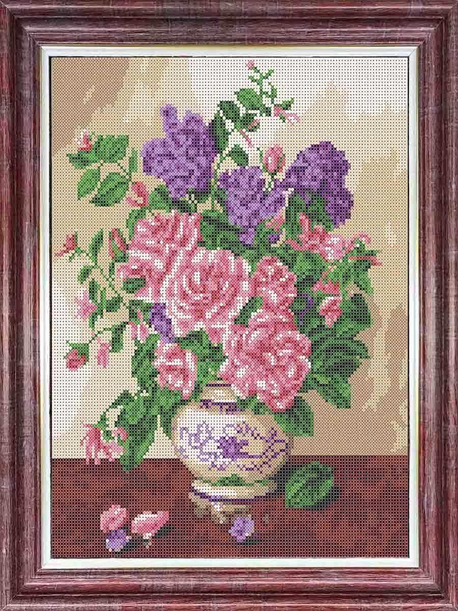 кбц 3047 Запах роз - схема (Каролинка) - схема для вышивания (Каролинка)