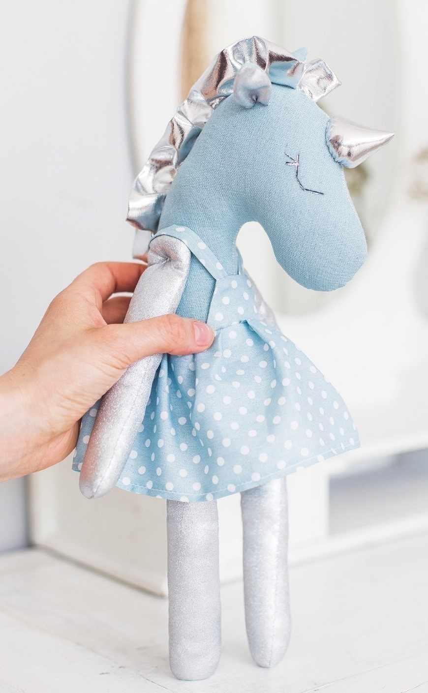 3640007 Мягкая игрушка «Единорожка Вандер», набор для шитья