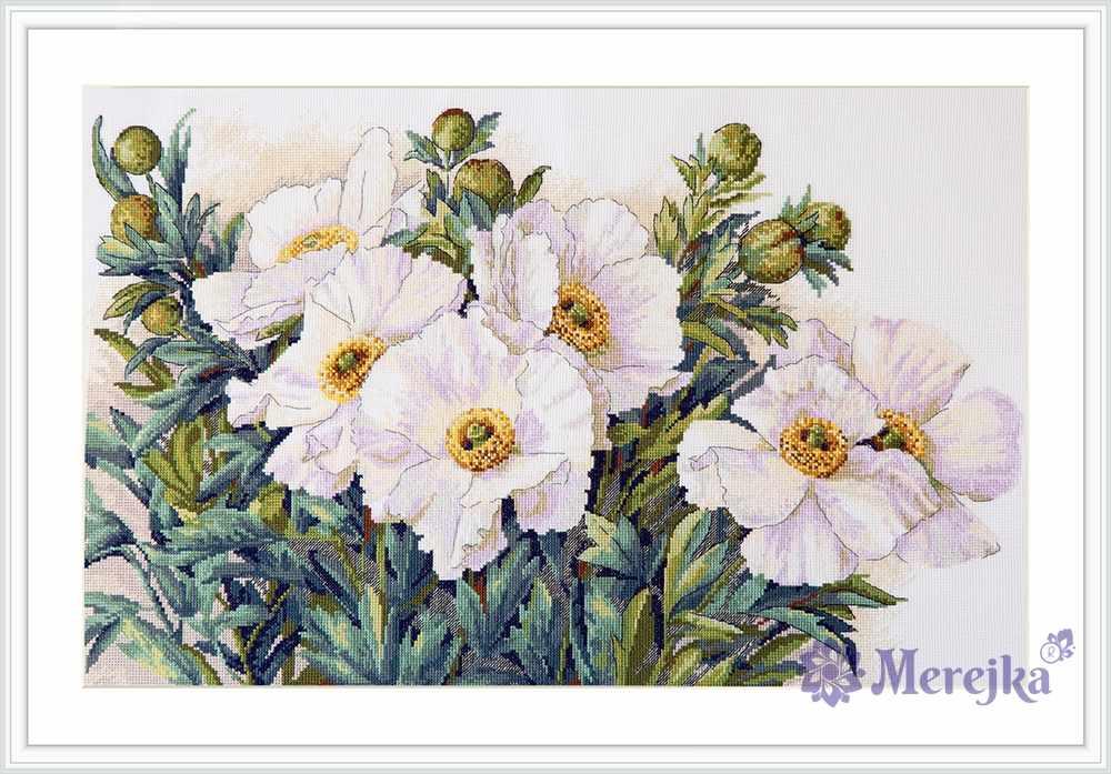 К-118 White Flowers