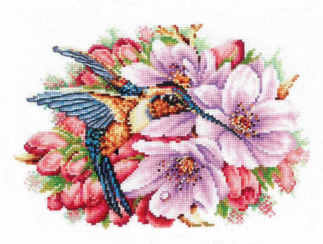 К-44 Колибри в цветах