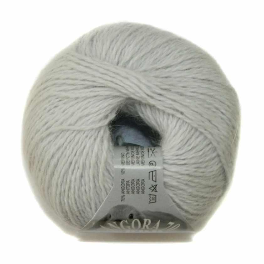 Пряжа BBB Filati Angora 70 Цвет.081 Св.серый