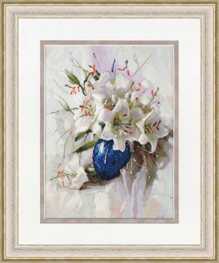 СЖ-056 Белые лилии
